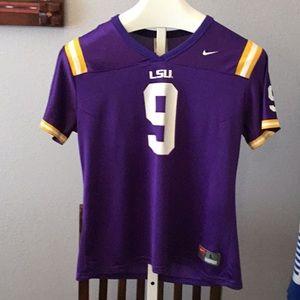 LSU Tigers football jersey 9